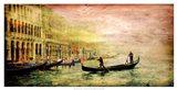Italy Panorama IV Art Print