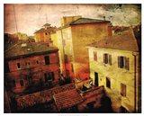 Bird's-eye Italy II Art Print