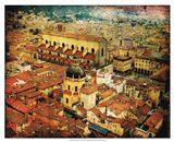 Bird's-eye Italy VI Art Print