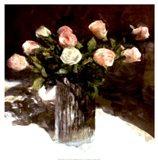 Classic Flowers III Art Print