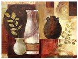 Spice Vases II Art Print