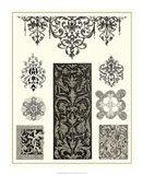Baroque Details III Art Print