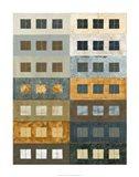 Urban Grid II Art Print