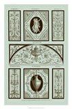 Panel in Celadon I Art Print