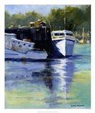 Morning at the Marina Art Print
