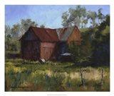 Amish Country Barn Art Print