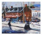 Annapolis Wharf Art Print