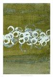 Green Orbs II Art Print