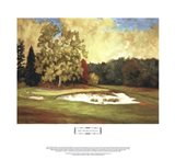 After the Rain at Merion Art Print