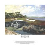 Rocky Cove and 15th Green Art Print