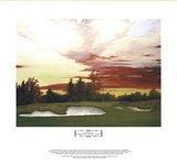 Sundown at Winged Foot's 10th Art Print