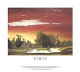 Sunrise at Riviera's 4th Art Print