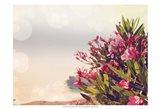 Flowers in Paradise II Art Print
