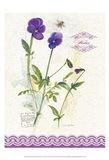Flower Study on Lace XIV Art Print