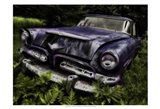 Rusty Auto II Art Print