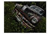 Rusty Auto III Art Print