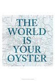 Map Words II Art Print