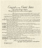 Bill of Rights (Document) Art Print