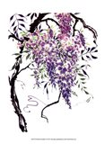 Wisteria Garden I Art Print