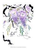 Wisteria Garden III Art Print