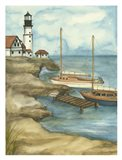 Sunday Sail I (PT) Art Print