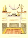 Zen Bath (D) Art Print
