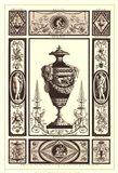 Sepia Pergolesi Urn II Art Print