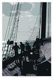 Caribbean Vessel II Art Print