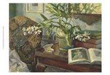 Evie's Orchid Art Print