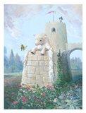 Rapunzel Lamb Art Print