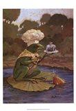 Cooking Frog Art Print
