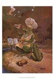 Frog Cookies Art Print