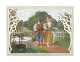 Rabbit's Picnic Art Print