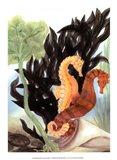 Seahorse Serenade I Art Print