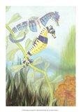 Seahorse Serenade III Art Print