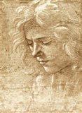 Sepia Maiden Art Print