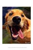 Golden Tongue Art Print