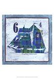 Top Sail Schooner Art Print