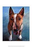 Spike Bull Terrier Art Print