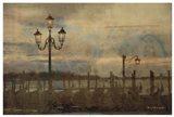 Dawn & the Gondolas I Art Print