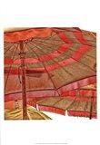 Umbrellas Italia I Art Print