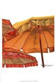 Umbrellas Italia II Art Print