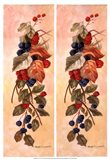 Berry Vine I Art Print