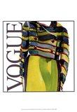 Fashion Vogue Art Print