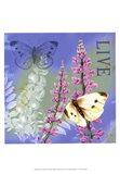 Butterflies Inspire I Art Print