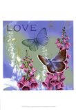 Butterflies Inspire IV Art Print