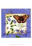 Butterfly Meadow II Art Print