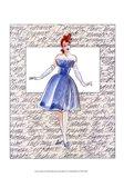 50's Fashion I Art Print