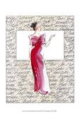 50's Fashion II Art Print