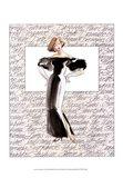 50's Fashion IV Art Print